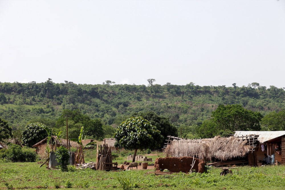 Carpenter area village
